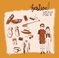 Summer music festival kit