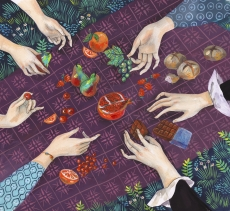 Picnic hands