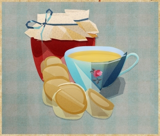 Breakfast with jam and coffee.jpg