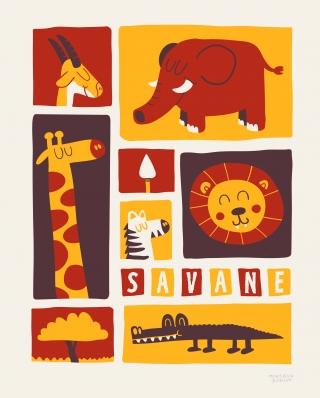 Poster of savane.jpg