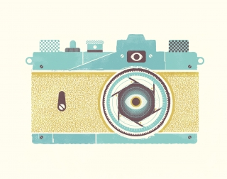 Camera with an eye