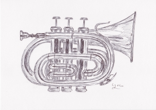 Ballpen Jazz Instrument