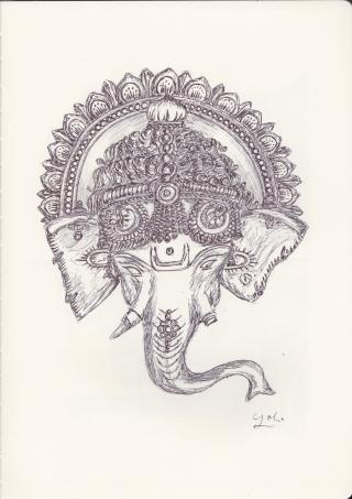 Ballpen Ganesha .jpeg