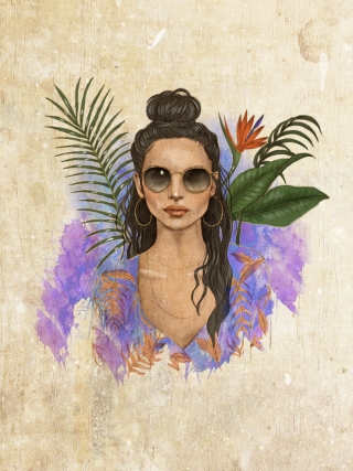 Tropicana girl