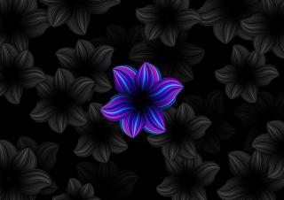 Deep ocean flower