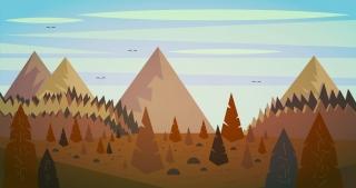 Spruce forest landscape.jpg