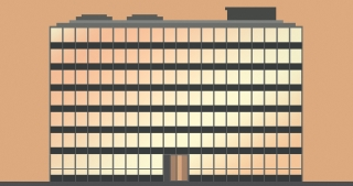 International Style Office Building