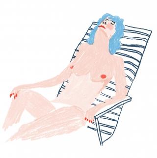 Sunbathing woman.jpg