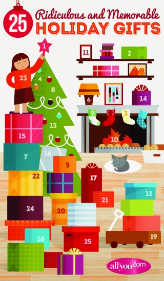Advent calendar scene