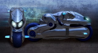 """""""Rideroid"""", a humanoid integrated with a high performance motorcycle. .jpg"""