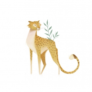 Leopard with plants.jpg