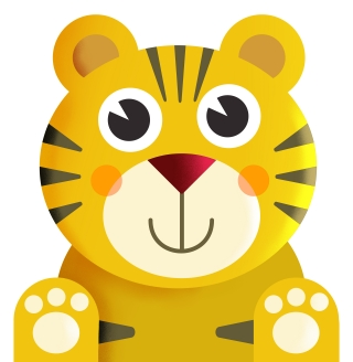 Yellow Baby Tiger