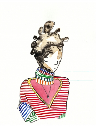 woman with big hair and stripy clothes.jpg