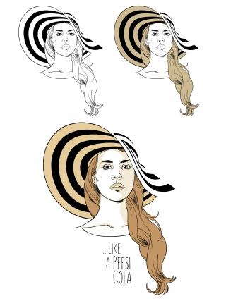 Like a Pepsi Cola - Lana Del Rey tribute  (portrait).jpg