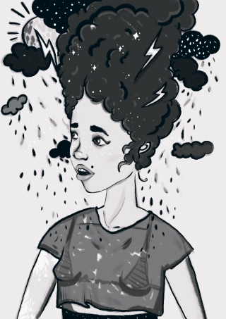 Girl with a head in clouds.jpg