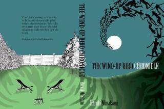 The Wind-Up Bird Chronicle by Haruki Murakami, book cover design by Sally Barnett. BA project