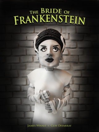 New The Bride of Frankenstein (1935) by Clay Disarray