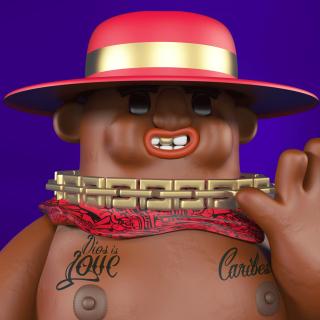 Nigga choco toy