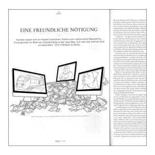 Editorial Illustration for NZZ Folio magazine (Computers on mountain of money).jpg