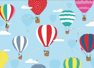 Flying baloons