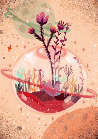 terarium mars planet