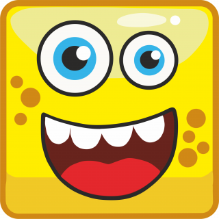 yellow cartoon monster