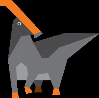 Prehistoric duckbill