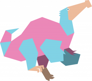 Prehistoric deinocheirus