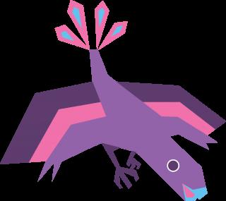 Prehistoric bird