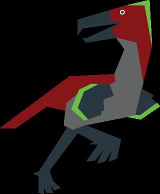 Prehistoric kelenken bird