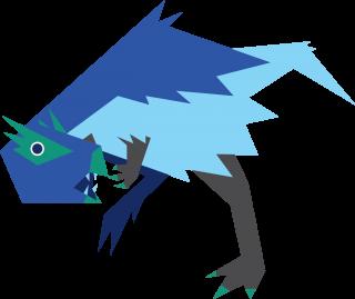 Prehistoric heterdontosaurus