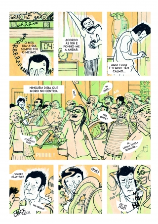 Comic about everyday life in the touristic city of Lisbon. .jpg