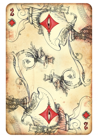 Playing card (sketch)