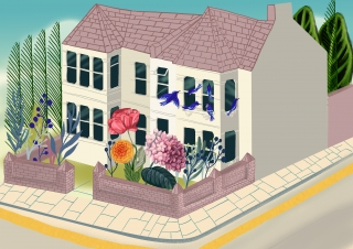 House with a flower garden.jpg