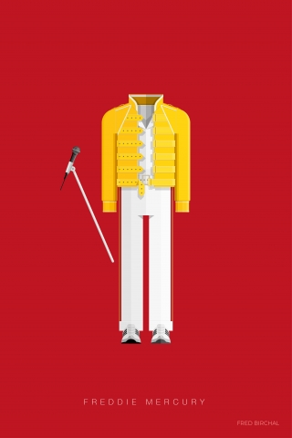 Freddie Mercury - Music Costumes