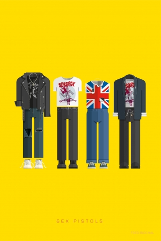 Sex Pistols - Famous Costumes
