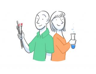 Art and chemistry teachers