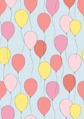 Cut pink childish balloons pattern.jpg