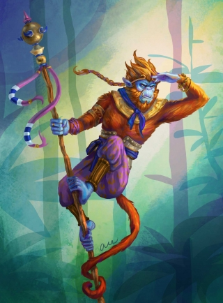 Hanuman the Monkey King