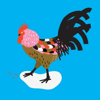 ROOSTER: Colourful Rooser for the Chinese New Year.jpg