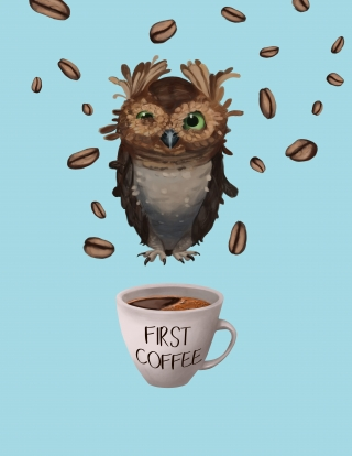 But,first coffee