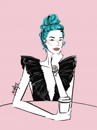 coffee black dress.jpg