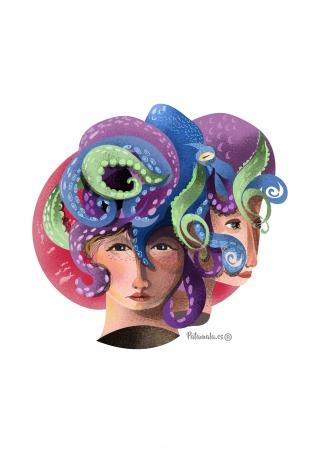 Head with an octopus on top.jpg