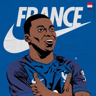 Mbappe France football