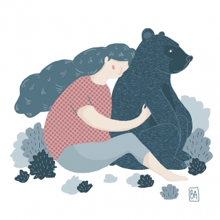 Girl with a bear .jpg