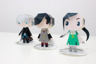 Video game characters Papercraft