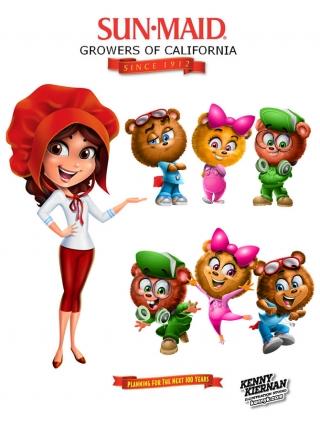 Sun Maid girl and bears mascot rebranding.jpg