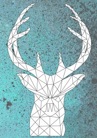 deer1 portrait