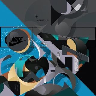 NIKE Illustration noise 9999999