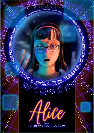 My interpretation of Alice in wonderland... ops Alice in Virtualand,